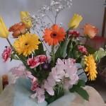 小学卒業式PTA花束、画像