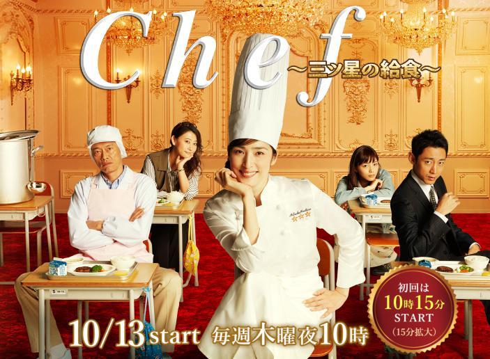 Chef~三ツ星の給食~、画像