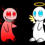 天使と悪魔どっちが好き?もちろんあたしは・・・♡