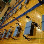 沖縄市立宮里中学校 男子卓球部は今日から名護で合宿スタートです♪