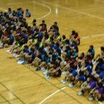 沖縄県中学校卓球競技大会 平成29年、宜野湾市民体育館で開催されました。